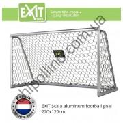 Футбольные ворота алюминиевые EXIT Scala Goal 220x120 см