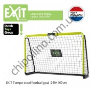 Футбольные ворота Exit Tempo Steel Football Goal 240x160 см