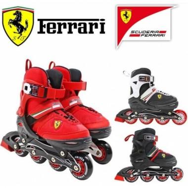 Ролики детские раздвижные Scuderia Ferrari
