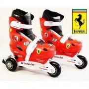 Ролики детские раздвижные Ferrari F1