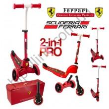 Самокат мультифункциональный Ferrari Scuderia 2 в 1