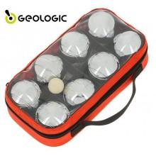 Набор для игры в петанк Geologic 8 шаров