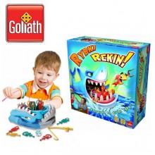 Настольная игра Акуломания Shark Bite game Goliath