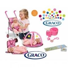 Игровой набор Graco Baby Doll Playset 4 в 1