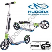 Самокат Hudora Big Wheel RX-Pro 205 Blue and green
