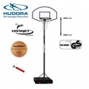 Баскетбольная стойка Hudora Hornet XXL + мяч баскетбольный