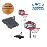 Баскетбольная стойка Hudora All Stars + мяч баскетбольный