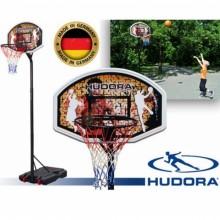 Баскетбольная стойка Hudora Chicago + мяч баскетбольный мяч Hudora