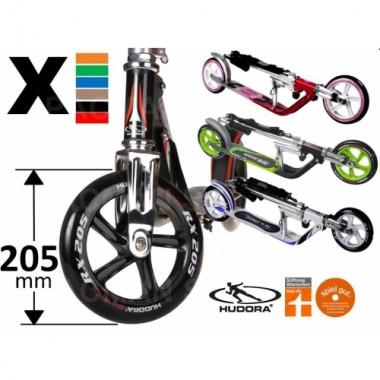Самокат Hudora Luxus Big Wheel RX 205