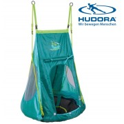 Качели-гнездо Hudora 90 с палаткой Пираты 72152