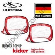 Футбольные ворота складные Hudora Pop Up Kicker Goal 120X80 см 2 шт