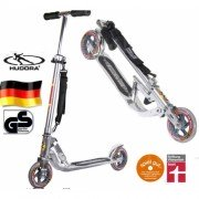 Самокат Hudora Big Wheel silber 144