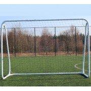 Футбольные ворота Hudora MEGA 50 мм белые 300x205 см