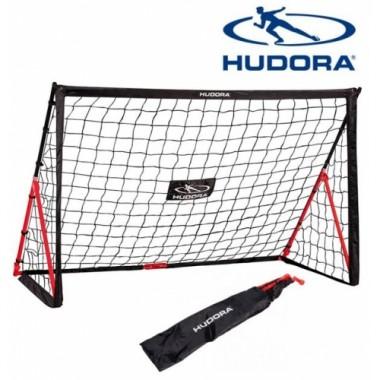 Футбольные ворота складные Hudora Fold Up