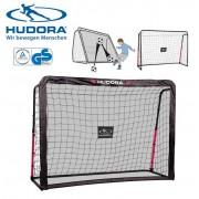 Футбольные ворота 2 в 1 Hudora Rebound 213х153 см