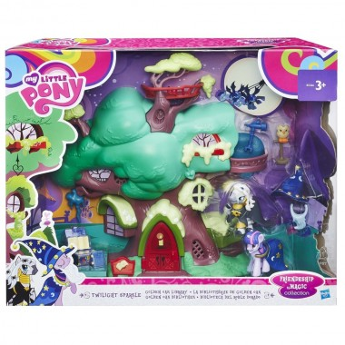 Игровой набор My little Pony библиотека Твайлайт Спаркл Hasbro B5366