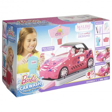 Набор Barbie DGC53 Mailbu Avenue Car Wash Design Studio