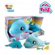 Интерактивные игрушки Дельфин Blu Blu и дельфинёнок Holly IMC