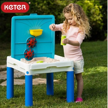 Игровой столик-песочница Keter Sand and Water Activity table