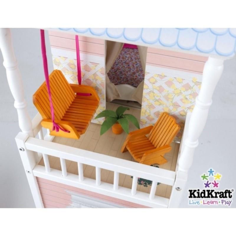 Как сделать балкон для кукол.