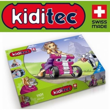 Конструктор Kiditec Multicar Машина 1101