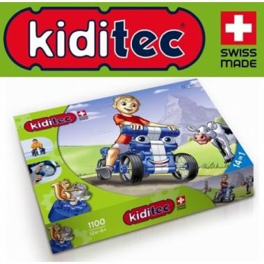 Конструктор Kiditec Multicar Машина 1100