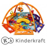 Развивающий коврик KinderKraft ANIMALS