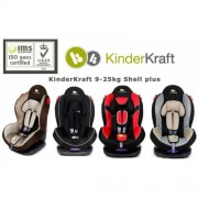 Автокресло KinderKraft Shell plus
