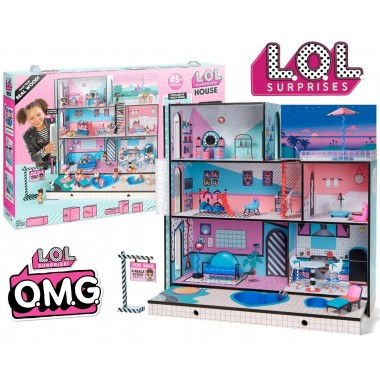 Дом для кукол L.O.L Surprise! Doll House