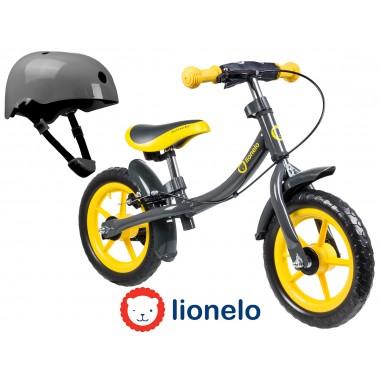 Беговел LIONELO DAN со шлемом