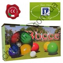 Игровой набор бочче петанк Londero 8 шаров деревянных разноцветные