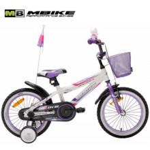 Велосипед MBIKE FIBER PURPLE 2-х колесный (диаметр колеса 14 дюймов)