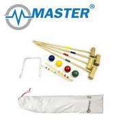 Набор для игры в крокет Master для 4 человек
