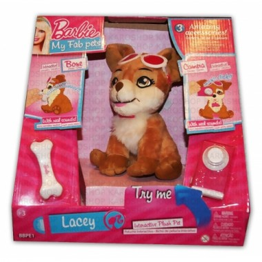 Интерактивная собака Lacey Barbie Лэйси