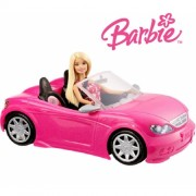 Машина Барби Barbie Glam Convertible and Doll Mattel DJR55