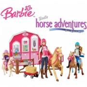 Игровой набор Барби Лошади и ранчо Barbie Pink Passport
