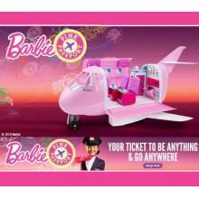 Игровой набор Барби Самолет Barbie Pink Passport Jet DMR53