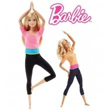 Кукла Barbie Made to Move Doll Барби Йога DPP75
