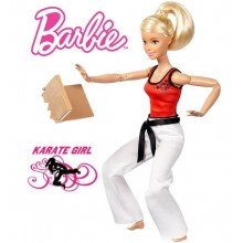 Кукла Barbie Made To Move Doll - Martial Artist DWN39