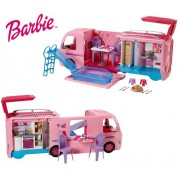 Интерактивный автобус фургон Барби Barbie DreamCamper FBR34