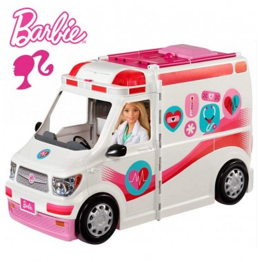 Барби скорая помощь Barbie Care Clinic Vehicle Mattel FRM19