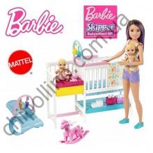 Набор Barbie Уход за малышами GFL38