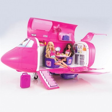 Игровой набор Barbie Самолет-мечта Glam Vacation Jet T2704