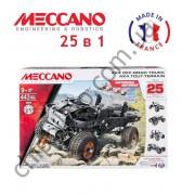 Конструктор Meccano 4x4 Off-Road Truck 25 Model Building Set 25 в 1