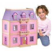Многоэтажный кукольный деревянный домик Melissa&Doug MD4570