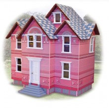 Викторианский кукольный деревянный домик Melissa & Doug Victorian Dollhouse MD2580