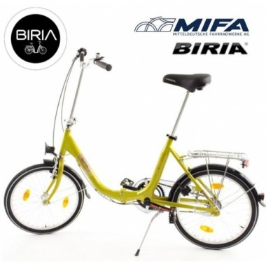 Велосипед складной алюминиевый MIFA Biria 3
