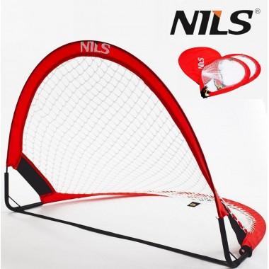 Футбольные ворота складные Nils Goal 2 шт