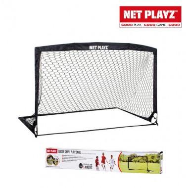 Складные футбольные ворота Net Playz Soccer Simple Playz Medium