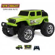 Автомобиль на р/у New Bright Jeep Chargers Truck Wrangler RC